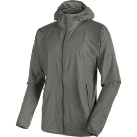 Mammut Crag WB Hooded Jacket Herr titanium melange